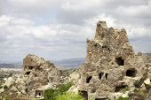 picture of goreme  - Cappadocia Rock formations in Goreme National Park Turkey - JPG
