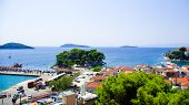 image of northeast  - Skiathos Island is located in the northern part of Sporades islands group - JPG