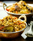 pic of pea  - vegetarian pilaf with chick - JPG