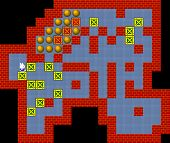 picture of pixel  - Crates retro 80s style game pixelated graphics - JPG