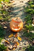 pic of jack-o-lantern  - Angry halloween jack - JPG