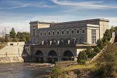 picture of hydroelectric  - Estonia - JPG