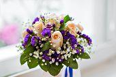 foto of bouquet  - wedding bouquet - JPG