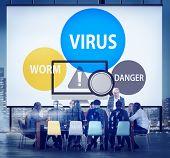 image of spam  - Virus Internet Security Phishing Spam Concept - JPG