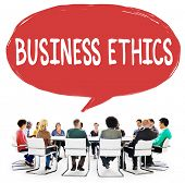 picture of honesty  - Business Ethics Honesty Ideology Responsibility Strategy Concept - JPG
