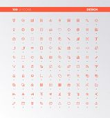 Ui Ux Design Elements Icons poster