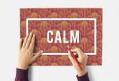 Keep Calm Mindfulness Peaceful Serene Relaxation poster