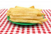 picture of pommes de terre frites  - French fries potato - JPG