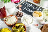 Super Healthy Probiotic Fermented Food Sources poster