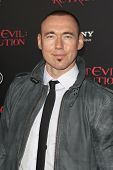 LOS ANGELES - SEP 12: Kevin Durand at the LA premiere of 'Resident Evil: Retribution' at Regal Cinem