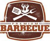 Vintage Premium Barbecue/BBQ Graphic