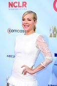 LOS ANGELES - SEP 16:  Jennifer Aspen arrives at the 2012 ALMA Awards at Pasadena Civic Auditorium o