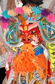 picture of hades  - Colorful paper effigy of Da Shi Ye  - JPG