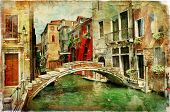 stock photo of gondolier  - amazing Venice  - JPG