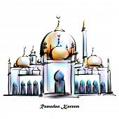 image of jawi  - Illustration of Mosque - JPG