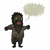 pic of tramp  - retro cartoon crazy tramp - JPG