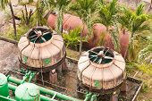 picture of wastewater  - The wastewater treatment plant of a hotel - JPG