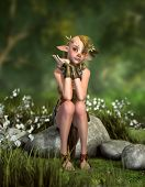 Little Forest Goblin 3D Cg