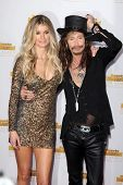 LOS ANGELES - JAN 14:  Marisa Miller, Steven Tyler at the 50th Anniversary Of Sports Illustrated Swi