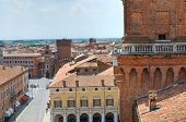 stock photo of ferrara  - The Este Castle of Ferrara - JPG