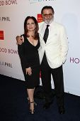 Gloria Estefan, Andy Garcia at the Hollywood Bowl 90th Season Hall of Fame Ceremony, Hollywood Bowl,