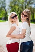 Постер, плакат: Two Playful Women