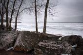 Winter Lake Erie