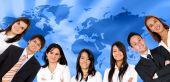 Постер, плакат: Глобальные деловые люди