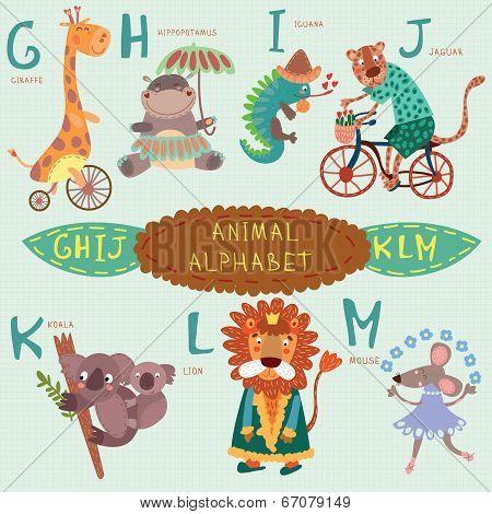 Very Cute Alphabet G H