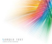 Постер, плакат: Радуга цветов спектра визитная карточка фон