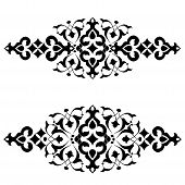 stock photo of ottoman  - series of patterns designed by taking advantage of the former Ottoman - JPG