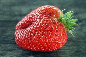 stock photo of strawberry  - Strawberries - JPG