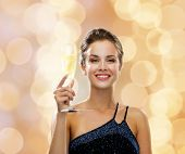 picture of sparkling wine  - party - JPG