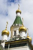 image of nicholas  - The domes of the Russian Church St - JPG