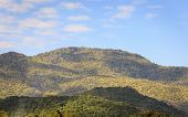foto of asheville  - View of Mountain and blue sky in Thailand - JPG