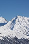 picture of sochi  - Mountain landscape of Krasnaya Polyana - JPG