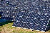 picture of production  - Photovoltaic panels for renewable electric production - JPG