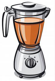 image of blender  - illustration of the new modern blender with blender - JPG