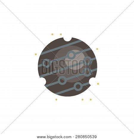 Mercury Colored Icon Element Of