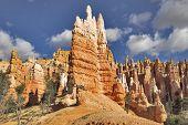 Постер, плакат: Известный Оранжевые скалы в Брайс Каньон в штате Юта США