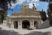 picture of church mary magdalene  - The great city of Jerusalem - JPG