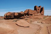 Wupatki National Monument ruins