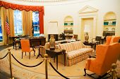 stock photo of jimmy  - Carter Center Oval Office - JPG