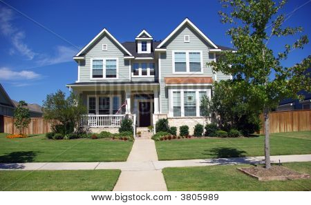 Picture Or Photo Of Idealistic Victorian Style Two Story
