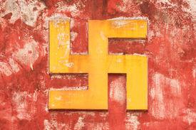 foto of swastika  - NHA TRANG VIETNAM 31 JULY 2012  - JPG