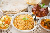 image of biryani  - Indian meal biryani rice - JPG