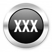 image of pornography  - xxx icon - JPG
