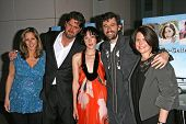 L-R Lori Christopher, Larry Furlong, Jena Malone, Martin Hynes and Lucy Barzun Donnelly  at the Los