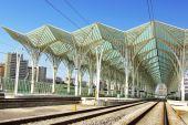 foto of gare  - Oriente station - JPG