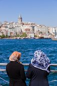 Muslim Women On The Bosphorus